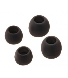 Ανταλλακτικά Earbuds Ancus για Bluetooth και Hands Free Ακουστικά Μαύρο 4 τμχ.
