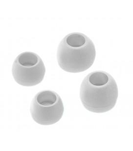Ανταλλακτικά Earbuds Ancus για Bluetooth και Hands Free Ακουστικά Λευκό 4 τμχ.
