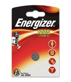 Buttoncell Energizer Lithium CR1225 3V Τεμ. 1