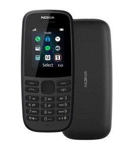 "Nokia 105 (2019) 4th Edition Dual Sim 1.77"" Μαύρο GR"