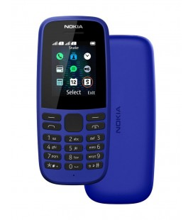 "Nokia 105 (2019) 4th Edition Dual Sim 1.77"" Μπλε GR"