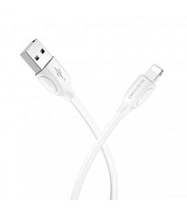 Καλώδιο σύνδεσης Borofone BX19 Benefit USB σε Lightning 1.3A 1.0μ Λευκό