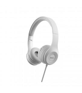 Ακουστικά Stereo Hoco W21 Graceful Charm με Μικρόφωνο Γκρι