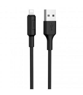 Καλώδιο σύνδεσης Hoco X25 για iPhone/iPad/iPod Lightning 1.0 μ. Μαύρο