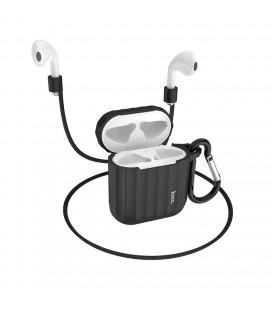 Θήκη Hoco WB10 Silicone Protective για Airpods 1/2 Μαύρη