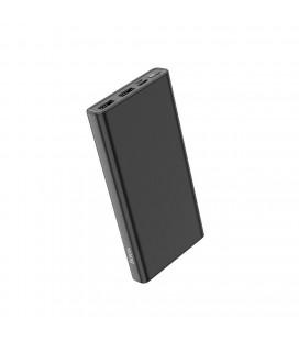 Power Bank Hoco J55 Neoteric 10000mAh Dual USB και USB-C / Micro-USB Input 2.0A και ένδειξη LED Μαύρο