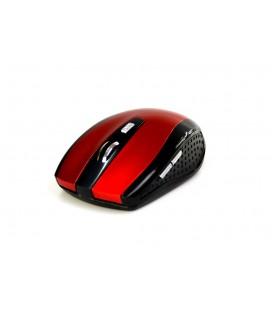 Ασύρματο Ποντίκι Media-Tech Raton Pro MT1113R 1200cpi με 3 Πλήκτρα Μαύρο-Κόκκινο