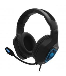 Ακουστικά Stereo Media-Tech COBRA PRO YETI MT3599 3.5mm για Gamers με Μικρόφωνο, Ρύθμιση Έντασης Ήχου και Ελαφρύ Φωτισμό Μαύρα