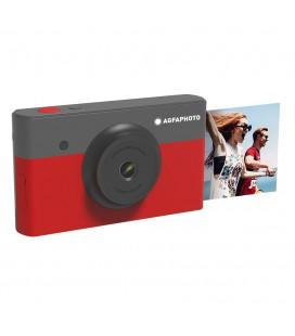 """Φωτογραφική Μηχανή Agfa Mini Shot 2X3 Κόκκινη 10MP Bluetooth LCD 1.77"""" και Τεχνολογία 4PASS"""