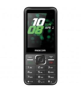 """Maxcom MM244 2.8"""" με Bluetooth, Ραδιόφωνο, Κάμερα, Φακό και Πολύ Μεγάλα Γράμματα. Ασημί"""