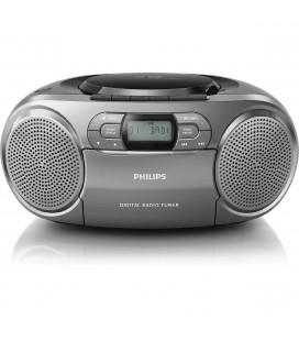 Ηχοσύστημα Philips AZB600/12  Μαύρο με Ραδιο, CD και AUDIO-IN 3,5mm