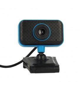 USB Webcam PC C11 Full HD 720p Μαύρo-Μπλέ με Ενσωματωμένο Μικρόφωνο Plug and Play Hi Speed Usb 2.0