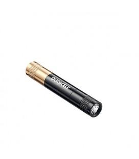 Φακός Αλουμινίου Duracell Tough 1 Led Super-Clear Αδιάβροχος Μαύρος KEY-3 / 20 Lumens/Απόσταση 27m