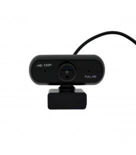 USB Webcam Mobilis W61 HD 720P 1280X720 με Φακό 5 Στρωμάτων, AWB και Ενσωματωμένο Μικρόφωνο 3.5mm Μαύρη