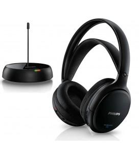 Ασύρματα Ακουστικά Stereo Philips SHC5200/10 Μαύρο για Τηλεοράσεις και Ηχοσυστήματα