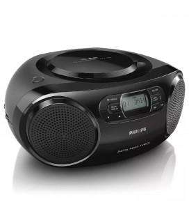 Ηχοσύστημα Philips AZB500/12 Μαύρο με Ραδιο, CD και AUDIO-IN 3.5mm