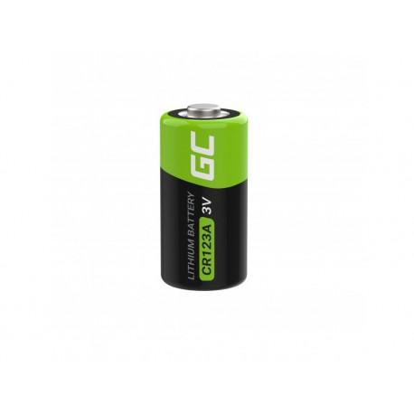 Μπαταρία Lithium Green Cell CR123A 3V 1400mAh Τεμ. 1