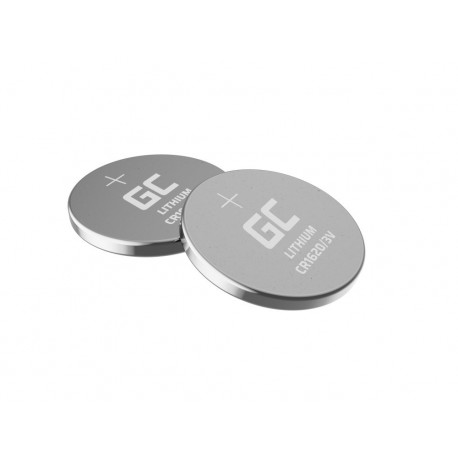 Buttoncell Lithium Green Cell CR1620 Τεμ. 5 με Διάτρητη Συσκευασία