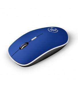 Ασύρματο Ποντίκι iMICE G-1600 1600cpi με 4 Κουμπιά και Αθόρυβη Λειτουργία Μπλε