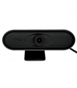 USB Webcam Mobilis P2B Full HD 1080P 1920X1080 με Ενσωματωμένο Μικρόφωνο και Υποδοχή για Τρίποδο. Μαύρη