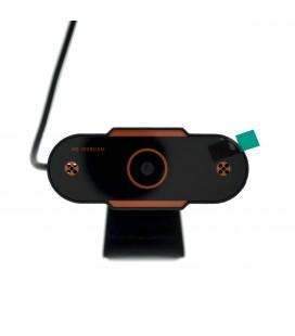 USB Webcam Mobilis PC04 Live Camera Full HD 1080P 1920X1080 με 2MP και Ενσωματωμένο Μικρόφωνο. Μαύρη