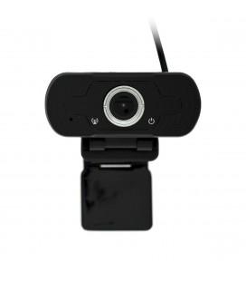 USB Webcam Mobilis W81 Full HD 1080P 1920X1080 με 2MP και Ενσωματωμένο Μικρόφωνο. Μαύρη