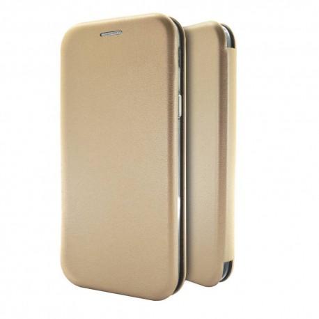 Θήκη Book Ancus Magnetic Curve για Samsung SM-A025F Galaxy A02s TPU Χρυσαφί