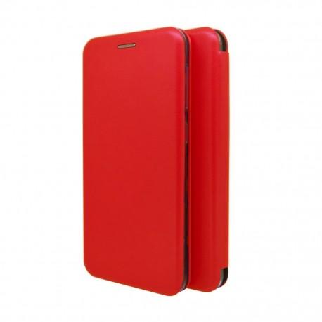 Θήκη Book Ancus Magnetic Curve για Samsung SM-A326B Galaxy A32 5G TPU Κόκκινη