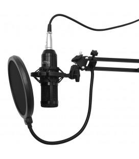 Επαγγελματικό Μικρόφωνο Media-Tech MT396 Μαύρο Κατάλληλο για Studio και Ηχογραφήσεις