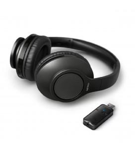 Ασύρματα Ακουστικά Stereo Philips TAH6206BK/00  Μαύρο για Τηλεοράσεις και Ηχοσυστήματα 3,5mm/Bluetooth Dongle