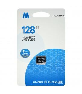 Κάρτα Μνήμης MiWorks MicroSDXC 128GB Class 10 UHS-I U3