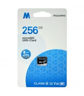 Κάρτα Μνήμης MiWorks MicroSDXC 256GB Class 10 UHS-I U3