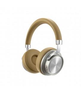 Wireless Ακουστικά Stereo Lenovo HD800 V5.0 με Μικρόφωνο, AUX, Πλήκτρα Ελέγχου & Χρόνο Αναπαραγωγής 300 ώρες Χρυσό