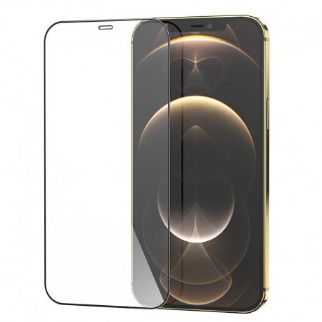 Tempered Glass Hoco G5 0.33mm Full Silk Screen HD 2.5D για Apple iPhone 12 Pro Max Μαύρο