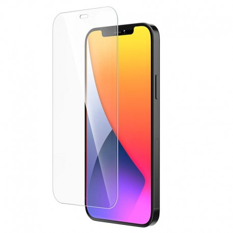 Tempered Glass Hoco G6 Instant Full Screen High-Definition HD 2.5D για Apple iPhone 12 / iPhone 12 Pro Μαύρο