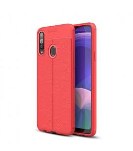 Θήκη Ancus AutoFocus Shock Proof για Samsung SM-A207F Galaxy A20s  Κόκκινη