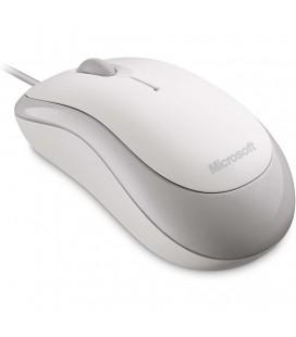 Ενσύρματο Ποντίκι Microsoft Basic Optical USB με 3 Πλήκτρα 4YH-00008 Λευκό
