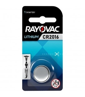 Buttoncell Lithium Rayovac CR2016 Τεμ. 1
