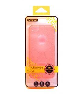 Θήκη TPU Baseus για Apple iPhone 5C Ροζ + 1x Screen Protector Baseus Ultra Clear Anti-Fingerprint