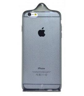 Θήκη TPU Baseus icondom για Apple iPhone 6 Plus/6S Plus Μαύρη - Διάφανη