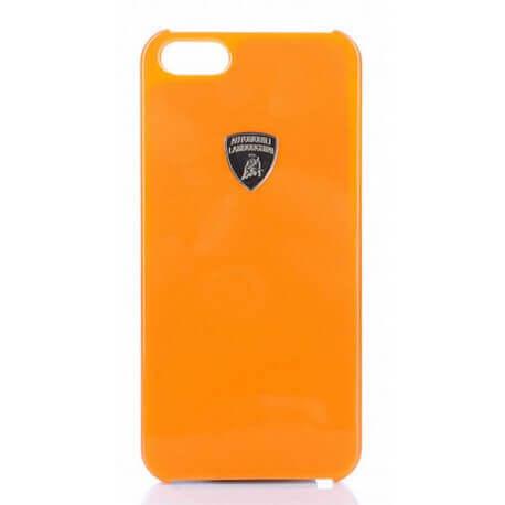 Θήκη Faceplate Lamborghini για Apple iPhone 5/5S Stylish Πορτοκαλί Μεταλλική Diablo-D1