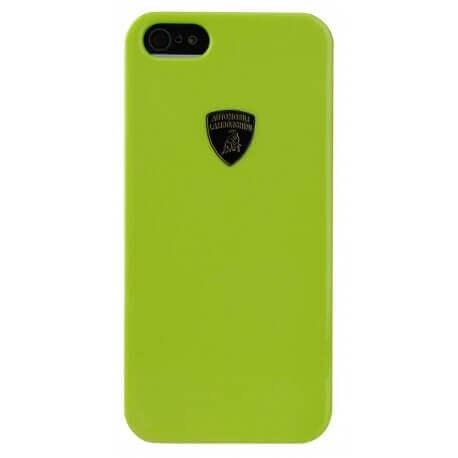 Θήκη Faceplate Lamborghini για Apple iPhone 5/5S Stylish Πράσινη Μεταλλική Diablo-D1