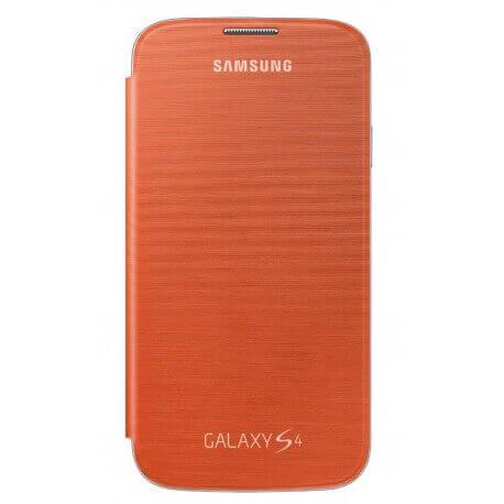 Θήκη Book Samsung EF-FI950BOEGCN για i9505/i9500 Galaxy S4 Πορτοκαλί Asia Pack
