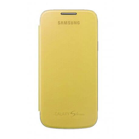 Θήκη Book Samsung EF-FI950BYEGWW για i9505/i9500 Galaxy S4 Κίτρινη