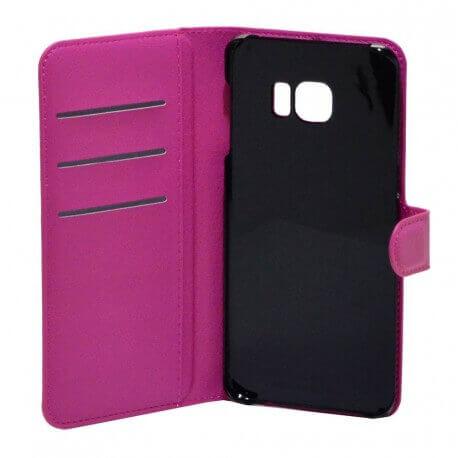 Θήκη Book Ancus Teneo για Samsung SM-G928F Galaxy S6 Edge+ Φούξια