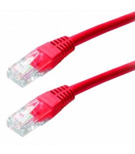 Καλώδιο Δικτύου Jasper Cat 5E UTP 3m Κόκκινο Patch Cord