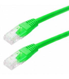 Καλώδιο Δικτύου Jasper Cat 5E UTP 1m Πράσινο Patch Cord