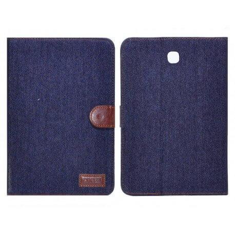 Θήκη Book Ancus Teneo Fabric για Samsung SM-T350 Galaxy Tab A 8.0 Μαύρη
