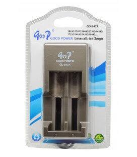 Φορτιστής Μπαταριών Βιομηχανικού Τύπου Goop Universal GD-847A για 18650/17670/18490/17500
