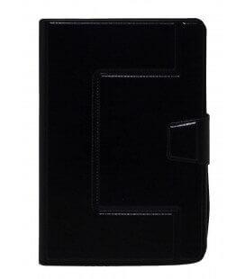 """Θήκη Book Ancus Universal Elastic για Tablet 7"""" Ίντσες Μαύρη (18 cm x 12 cm)"""
